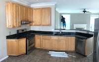Solid wood kitchen cabinets Ashburn, 20148