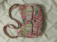 pink, green and white hobo bag Portsmouth, 23703