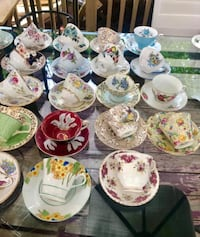 Vintage England bone China tea cups and saucers. $165 for the lot  Hamilton, L9A 1T3