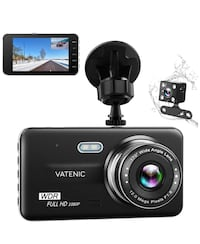 Brand new in box dual car  dash camera 马卡姆, L6E 2C4