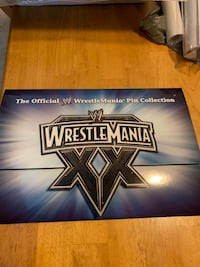 WWF Wrestlemania 20th Anniversary Pins