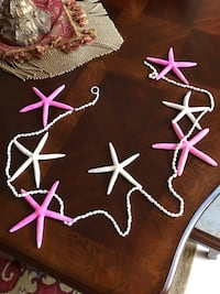 Star fish and sea shell hanging strand Melbourne, 32940