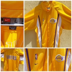 yellow Lakers jacket