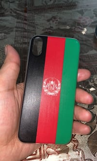 Iphone X and iPhone XS Afghanistan country flag