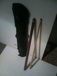 SCHMELKE POOL STICK and CARRY CASE