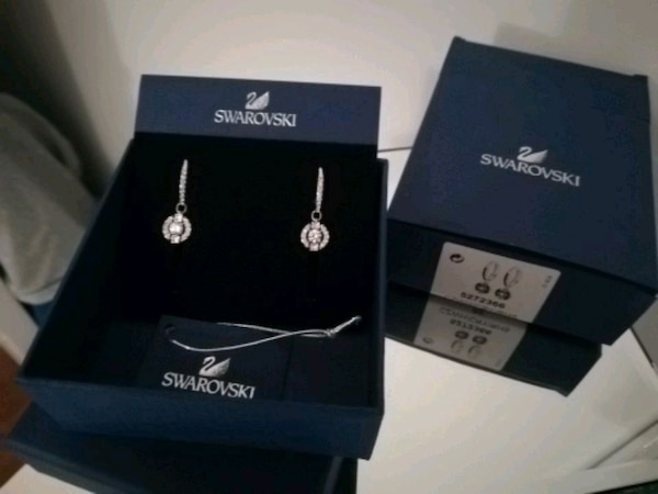 NEW Swarovski earrings