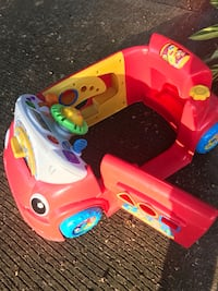 toddler's red and yellow ride on toy car Beaumont, 77703