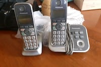 Panasonic cordless phone system with answering  Toronto, M1K 2N6