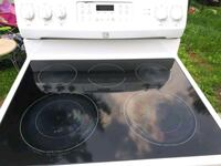 white and black induction range oven Toronto, M4T
