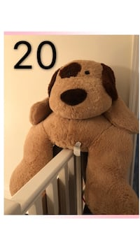 brown and white dog plush toy 朗福德, V9B 0A9
