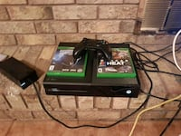 Xbox One console with controller and game cases Hamilton, L8G 4E3