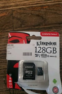 Brand new Kingston 128 GB Micro SD cardAsking 40  Oshawa, L1H 4J6