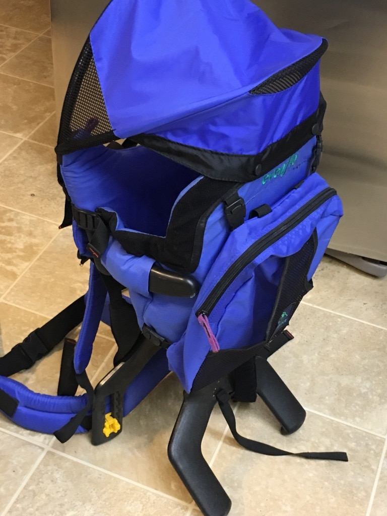 1c04dcc0261 Used evenflo trailtech backpack infant child carrier for hiking jpg 600x800 Evenflo  trailtech backpack carrier hiking