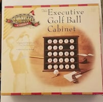 The Executive Golf Ball Cabinet brand new