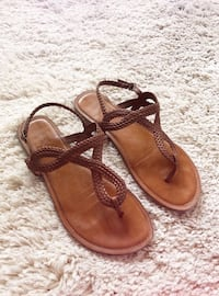 Brown sandals  Chico, 95973