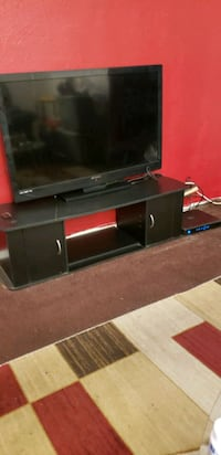 Flat screen and stand