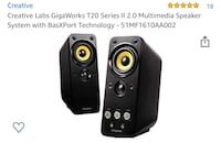 Creative multimedia speaker system with BasXport Indianapolis, 46201