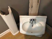 white ceramic sink with faucet Barrie, L4M 3X2