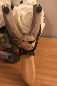 Hand carved sling shot Calgary, T1Y