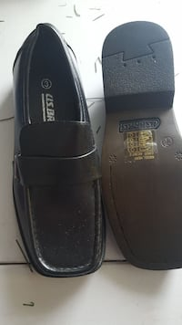 pair of black leather shoes Newport, NP20 6FH