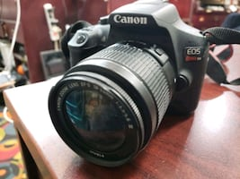 Canon Rebel T6 with 18-55mm lens