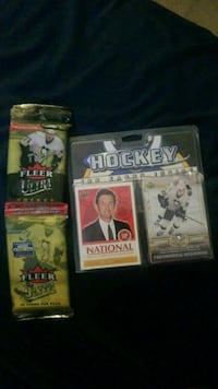 Hockey sports cards Gaithersburg