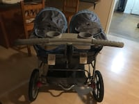 baby's black and gray twin stroller Port Coquitlam, V3B 4R4