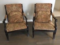Stoney creek high end 2 large chairs Milton, L9E 1C2