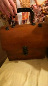 Old wooden lunch box  Phenix City, 36867