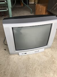 "Grey Toshiba CRT TV 20"" Barely used -Need gone make an offer"