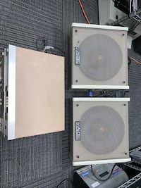 VINTAGE ALTEC LANSING SPEAKERS SYSTEM