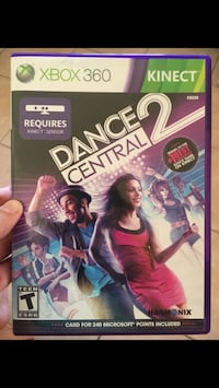 Dance Central 2 Xbox 360 Riverside, 92504