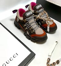 GUCCI PEARL SNEAKERS 100% AUTHENTIC / WITH BOX AND PAPERS  Atlanta