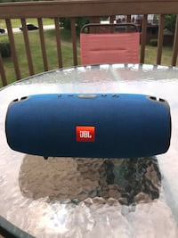 blue and black JBL portable speaker Woodbridge, 22192