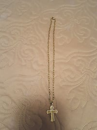 MENS NECKLACE WITH CROSS Asheville, 28805