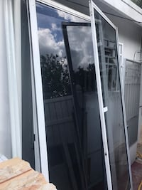 white wooden framed glass door Hialeah, 33010