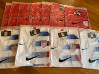 2019 USA Red Or white jersey  New York, 10033