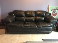 Leather sofa Springfield, 22152