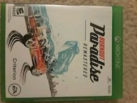 Xbox One 'Burnout Paradise-Remastered' Sterling