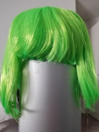 New NEON Green Halloween/Rave Wig Edmonton, T6W 1A5