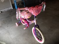 Disney Princess Bike w/ Training wheels & Helmet Henderson, 89011