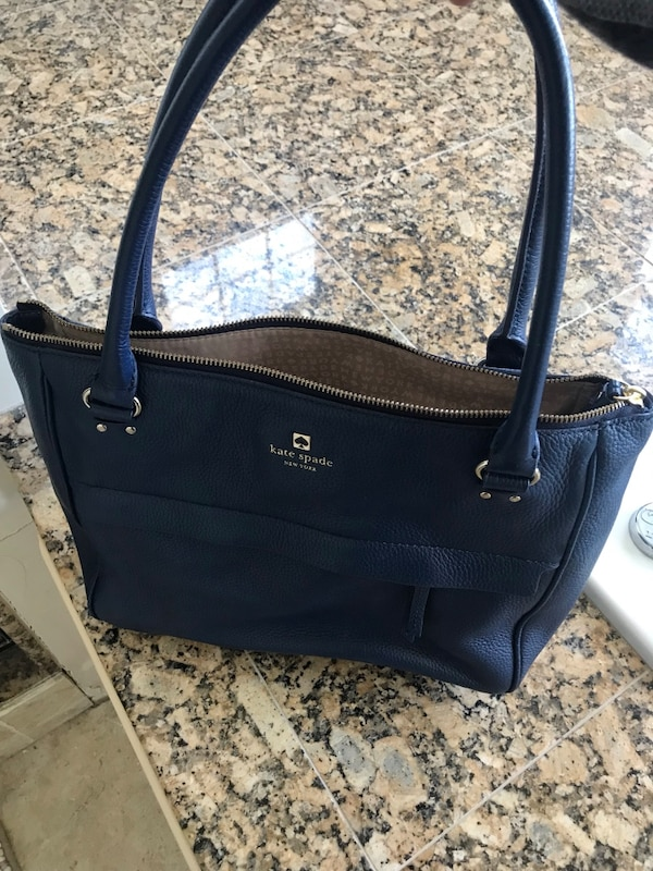 256b5ea59 Used Used/Like New Kate Spade Handbag Navy Blue for sale in Amherst ...