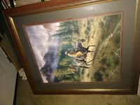 painting of brown wooden house with brown wooden frame Bakersfield, 93305