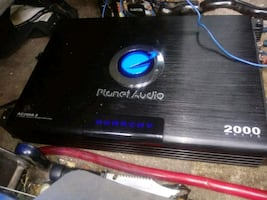 2000watts plante atuo amp an one 15 inch sub 175for the amp an