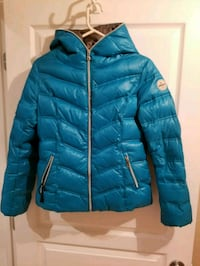 blue bubble zip-up jacket Montreal, H3B 3Y1