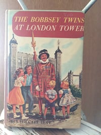 The bobbsey twins at london tower by laura lee hope book