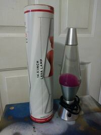 14.5 inch grey and pink lava lamp with box Tallahassee, 32304