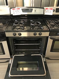 Amana Stainless gas stove *Used* Reisterstown, 21136