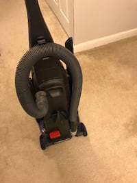 black and blue Bissell upright vacuum cleaner Alexandria, 22312