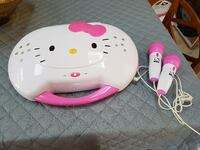 Hello kitty CD Player and karaoke  null